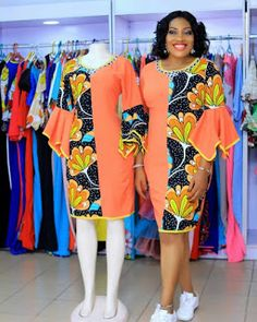 Checkout These Classy Ankara Gowns That Will Give You That Elegant Look - Fashion&Beauty - operanewsapp African Fashion Ankara, Latest African Fashion Dresses, African Print Fashion, Africa Fashion, Short African Dresses, African Print Dresses, Ankara Gowns, Ankara Dress Styles, Ankara Skirt