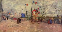 """vincentvangogh-art: """" The Allotments at Montmartre, 1887 Vincent van Gogh Buy Artwork by Vincent van Gogh """""""