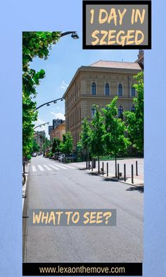 Things to do in Szeged #hungary #itinerary #cityscape #cityguide