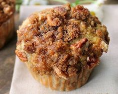Muffins with Crumb Topping Banana Muffins with Crumb Topping Recipe on Yummly. Muffins with Crumb Topping Recipe on Yummly. Muffins Blueberry, Banana Oatmeal Muffins, Peach Muffins, Banana Zucchini Muffins, Oatmeal Cupcakes, Muffin Recipes, Breakfast Recipes, Banana Recipes, Crumb Topping Recipe