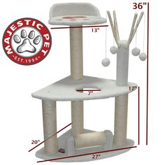 """36"""""""" BUNGALOW - SHERPA By Majestic Pet Products"""