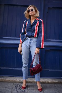 The Street Style Trends We're Stealing From Paris Fashion Week via @WhoWhatWearAU