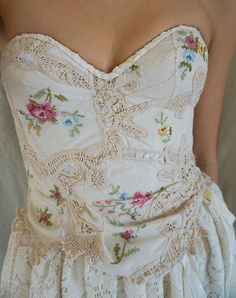 Briar Patch Wedding Gown by Fable Dresses on Etsy