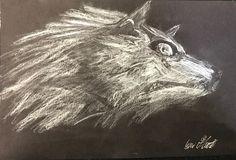 Wolf Link from Twilight Princess [Chalk]