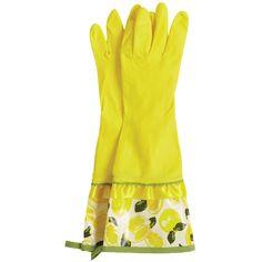 Jessie Steele Rubber Gloves Summer Lemons @LaylaGrayce | $9.00
