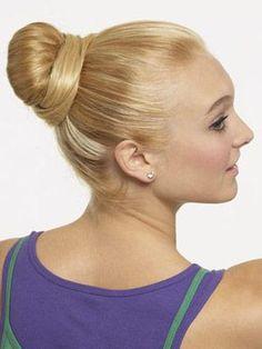 DIY Wedding Hair : DIY Ballerina Bun