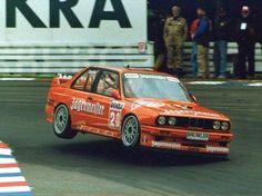 Harald Grohs im Jägermeister BMW am Norisring – wie immer spektakulär Bmw Sport, Sport Cars, Race Cars, Bmw E30 M3, Bmw Alpina, Touring, Bmw Classic, Bmw 3 Series, Rally Car
