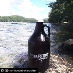 #Repost @northcountryhardcider with @repostapp.  It's Saturday and we're open 12-6pm. We have six ciders on tap including our new seasonal 'Beary Patch' cider. Stop in and grab a growler for the lake the beach the mountains or the backyard! #nhcider #nhbeer #cider #craftcider #bearypatch by orchardboxuk
