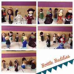Create. Cook. Teach.: Bottle Buddies American Hero 5th Grade Biography