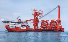 pipelay vessels | ... Constellation – Ice-class subsea multi-lay vessel with heavy lift