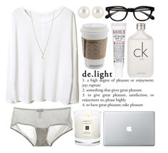 """""""slight"""" by animagus ❤ liked on Polyvore featuring Cosabella, Kiehl's, Calvin Klein, Henri Bendel and Minor Obsessions"""