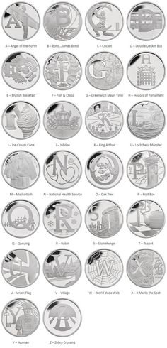 The Great British Coin Hunt, Quintessentially British A – Z - Coin Community Forum