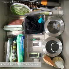 Another #HappyClient of #OrganizedByCarolina! This client's bathroom is quite small with only 2 equally small drawers. So #Organization is key especially since I needed to maximize her #Storage in those small drawers. I used bins, drawer separators, etc. from Target and The Container Store.  #LifestyleBasics #Lifestyle #Basics #LifestyleBlogger #Blogger #CleverTips #Tips #Organizer #Organizing #Tidying #Nifty #Hostess #Beauty #GettingReady #TimeSaver