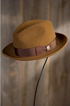 4f6eb18b639 Goorin Bros. Dean the Butcher Wool Fedora Hat
