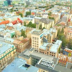 Beautiful Riga Latvia We have a room with a view  #visitriga #riga #latvia #visitlatvia #view #futuremarja #skybar