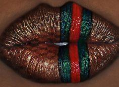 Gucci lips