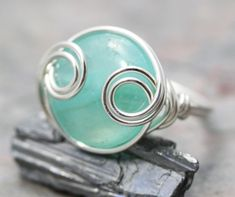 RING - Wire Wrapped Ring.
