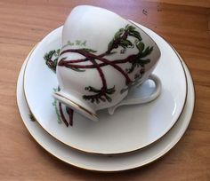 Westminster Trio Kangaroo Paw W.AVintage Retro High Tea Coffee Cup Saucer Plate