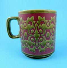 Vintage Hornsea Pottery 1960s/70s Osbourne Mug by John Clappison | eBay