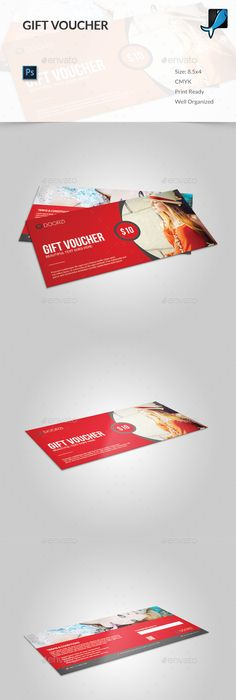 Creative Gift Voucher 01   Creative gifts, Creative and Template