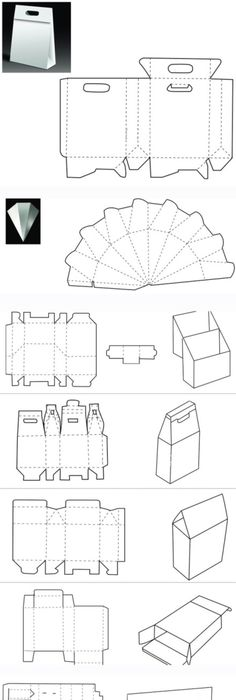 Templates for unusual boxes | Boxes | Pinterest | Template, Box and Gift