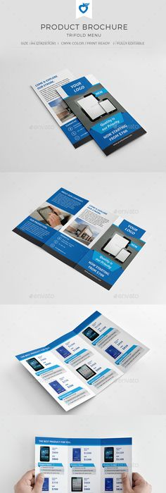 Travel Trifold Brochure Brochures, Brochure template and Template