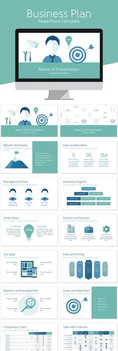Business infographic  Morphinic Modern Powerpoint Infographic