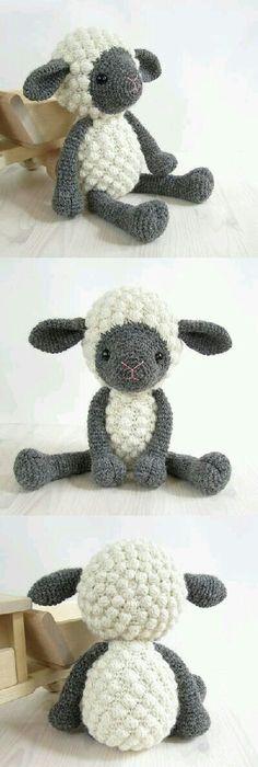 Davie the Donkey amigurumi pattern by Amiable Amigurumi | Häkeln ...
