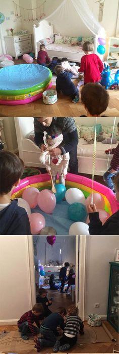 Kindergeburtstag Einladung selber basteln Deko