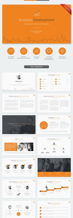 Business plan powerpoint template business planning flat design business development powerpoint template toneelgroepblik Image collections