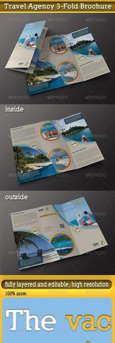 Travel Tour Tri Fold Brochure Tri Fold Brochure Template Tri