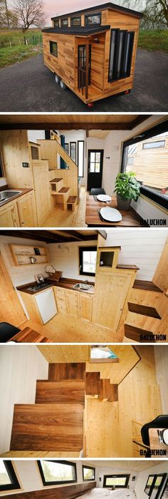 The escapade a beautiful modern french tiny house