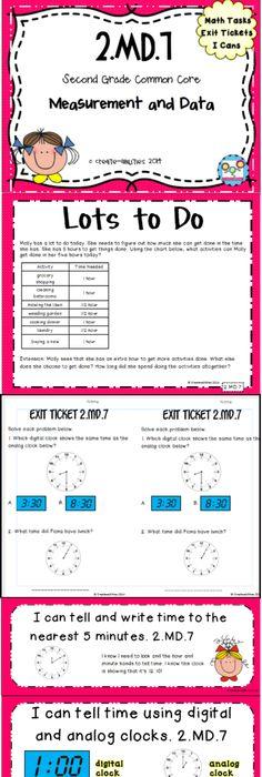 Grade 3 quiz module 1 topic b grade 3 eureka math pinterest telling time math tasks and exit tickets fandeluxe Choice Image