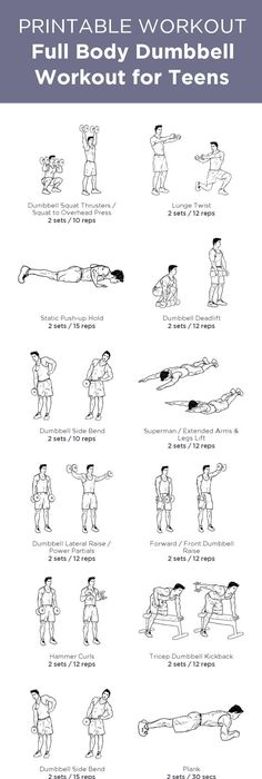routines personalized teen workout