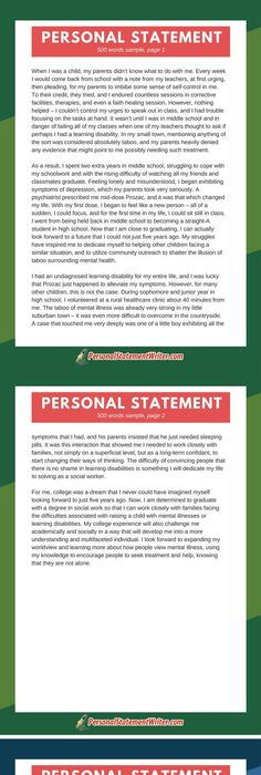 250 word personal statement sample which will prove that less is - new 10 personal statement for scholarship