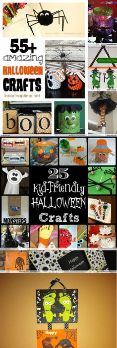 12 Halloween Crafts and Treats Fun halloween crafts, Halloween - cute halloween gift ideas