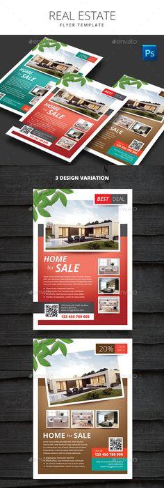 Real Estate Flyer Template Vol.11   Real estate flyers, Flyer ...