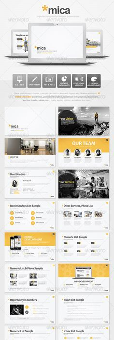 Moga  Small Business Presentation Powerpoint Template