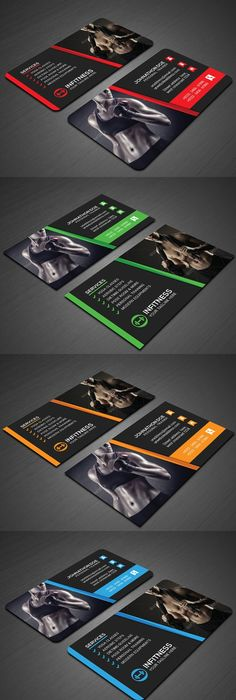 Personal Fitness Trainer Business Card Cards And