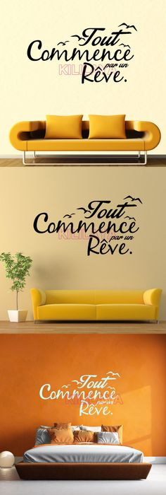 Stickers Cuisine French Vinyl Wall Stickers Wallpaper Sticker Mural ...
