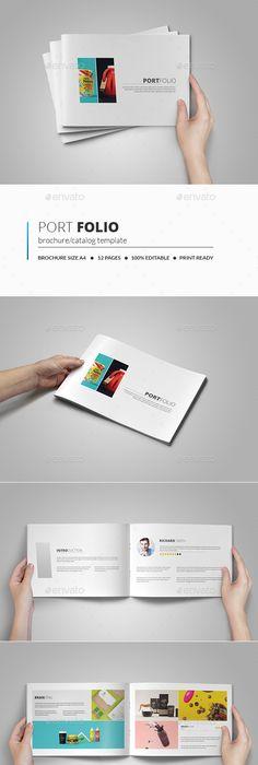 Portfolio Brochure Vol2 Brochures And Template