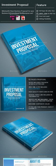 Siska Proposal Template  Proposal Templates Proposals And