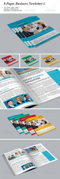 Business Newsletter Newsletter templates, Print templates and Template - free business newsletter templates