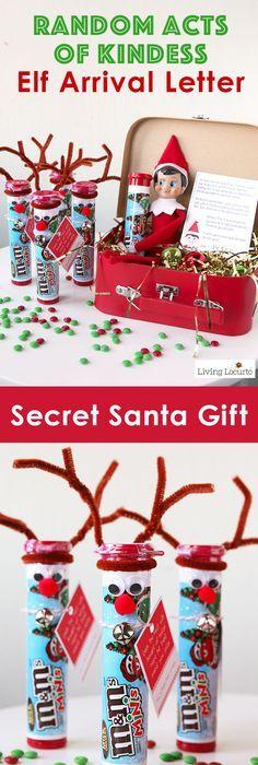 My secret santa is awesome | Santa, Snow, & Mistletoe | Pinterest ...