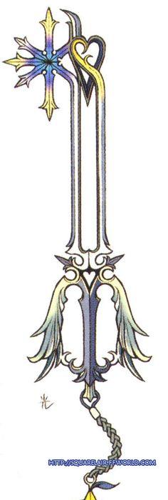 Oathkeeper Keyblade Tattoo