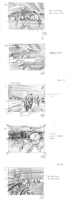 All Movies Start With A Story Board This Is The Story Board From