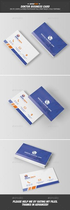 Mnmed  Minimal Medical Business Card  Business Cards Minimal