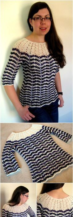 50+ Quick & Easy Crochet Summer Tops - Free Patterns