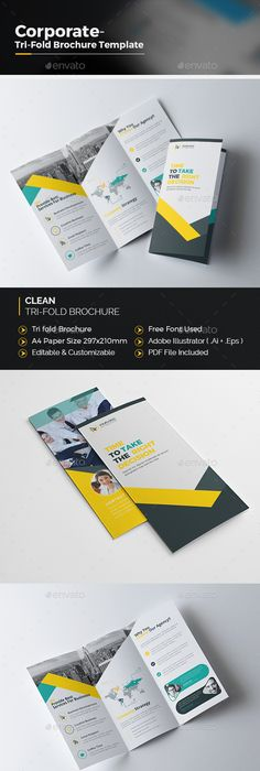 Square TriFold Brochure Template Psd Download Here Http