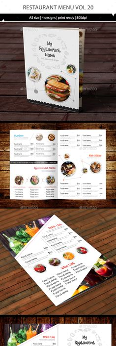 Food Menu  Food Menus Print Templates Download Here Https